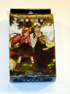 Spice and Wolf Playing Cards: Poker Deck