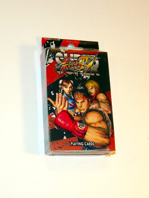 Super Street Fighter IV Playing Cards: Poker Deck