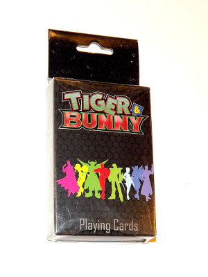 Tiger & Bunny Playing Cards: Poker Deck