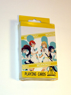 Wagnaria!! Playing Cards: Poker Deck