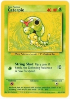 Pokemon TCG Card: Caterpie from Base
