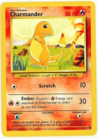 Pokemon TCG Card: Charmander from Base