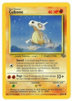 Pokemon TCG Card: Cubone from Jungle