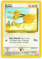 Pokemon TCG Card: Doduo from Base