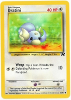 Pokemon TCG Card: Dratini from Team Rocket