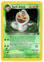 Pokemon TCG Card: Ekans Stage 1: Dark Arbok from Team Rocket (Foil)