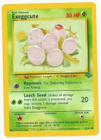 Pokemon TCG Card: Exeggcute from Jungle