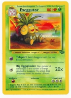 Pokemon TCG Card: Exeggcute Stage 1: Exeggutor from Jungle