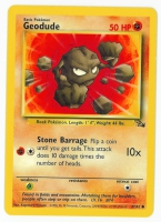Pokemon TCG Card: Geodude from Fossil