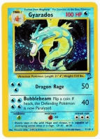 Pokemon TCG Card: Magikarp Stage 1: Gyarados from Base 2 (Foil)