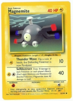 Pokemon TCG Card: Magnemite from Base