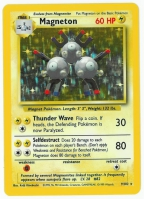 Pokemon TCG Card: Magnemite Stage 1: Magneton from Base (Foil)