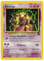 Pokemon TCG Card: Mewtwo from Promo 14
