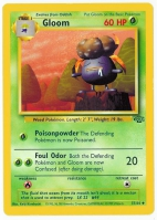 Pokemon TCG Card: Oddish Stage 1: Gloom from Jungle
