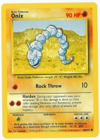 Pokemon TCG Card: Onix from Base