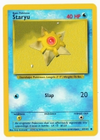 Pokemon TCG Card: Staryu from Base