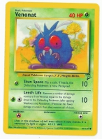 Pokemon TCG Card: Venonat from Base 2