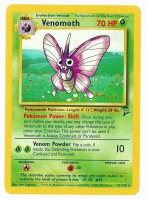Pokemon TCG Card: Venonat Stage 1: Venomoth from Base 2