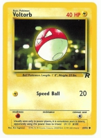 Pokemon TCG Card: Voltorb from Team Rocket