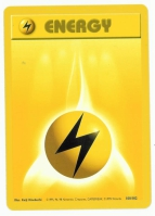 Pokemon TCG Energy Card: Electric Energy from Base