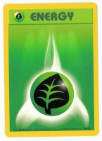 Pokemon TCG Energy Card: Grass Energy from Base