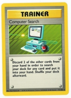 Pokemon TCG Trainer Card: Computer Search from Base