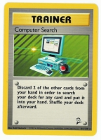 Pokemon TCG Trainer Card: Computer Search from Base 2