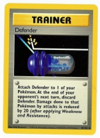 Pokemon TCG Trainer Card: Defender from Base