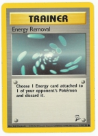 Pokemon TCG Trainer Card: Energy Removal from Base 2