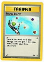 Pokemon TCG Trainer Card: Energy Search from Fossil
