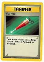 Pokemon TCG Trainer Card: Full Heal from Base