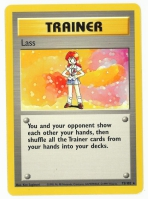 Pokemon TCG Trainer Card: Lass from Base