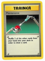 Pokemon TCG Trainer Card: Maintenance from Base