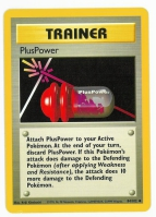 Pokemon TCG Trainer Card: PlusPower from Base