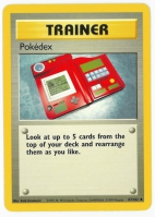 Pokemon TCG Trainer Card: Pokedex from Base