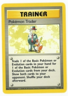 Pokemon TCG Trainer Card: Pokemon Trader from Base