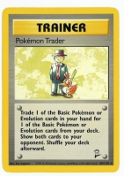 Pokemon TCG Trainer Card: Pokemon Trader from Base 2
