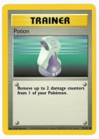 Pokemon TCG Trainer Card: Potion from Base