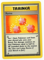 Pokemon TCG Trainer Card: Revive from Base