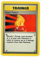 Pokemon TCG Trainer Card: Super Potion from Base