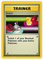 Pokemon TCG Trainer Card: Switch from Base