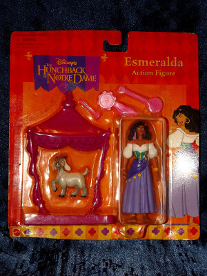 Disney Action Figure: The Hunchback of Notre Dame Esmeralda