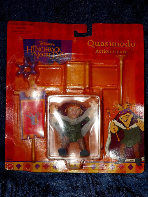 Disney Action Figure: The Hunchback of Notre Dame Quasimodo