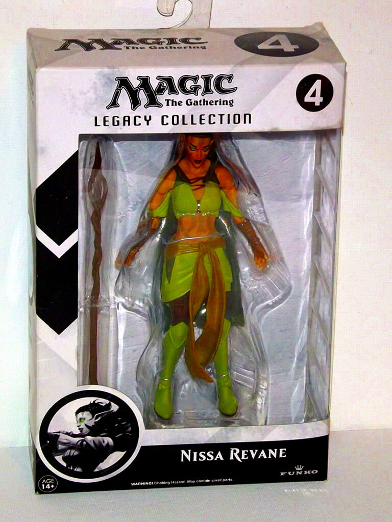 Magic the Gathering Legacy Collection Action Figure Series 1 Nissa Revane