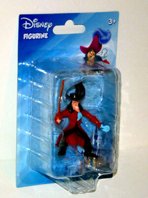 "Disney's Peter Pan Mini PVC Figure: 2½"" Captain Hook"