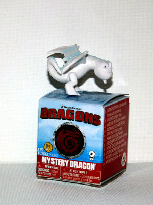 "Dragons Mini PVC Figure: 1¼"" Snow Wraith Figure (PVC)"