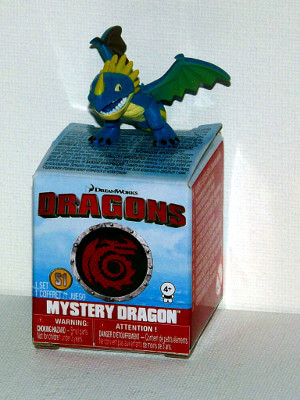 "Dragons Mini PVC Figure: 1¼"" Stormfly (PVC)"