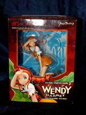 Gun X Sword PVC Figure: Wendy Garret