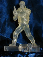 Ghost in the Shell Trading Figure: Batou (Crystal)