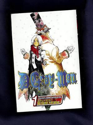 D.Gray-Man Manga: Vol. 01, Opening